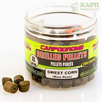 Пеллетс сверленый Fun Fishing Drilled Pellets SWEET CORN | КУКУРУЗА 8mm 80gr