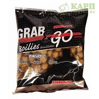 Бойлы Starbaits Grab & Go PINEAPPLE Grab & Go | АНАНАС 500gr