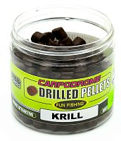 Пеллетс сверленый Fun Fishing Drilled Pellets Krill | Криль 8mm 80gr