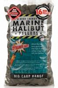 Пеллетс Dynamite Baits Marine Halibut Pellets 16mm 900g - Палтус (просверл.)