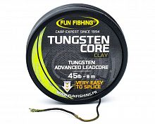 Ледкор FUN FISHING Tungsten Core Clay 45lb 8m