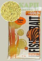 Прикормка FishBait Gold КАРП БАНАН 1кг