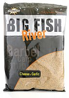 Прикормка Dynamite Baits BIG FISH RIVER CHEESE & GARLIC 1.8кг