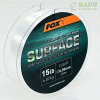 Fox Surface™ Floater Mainline Clear 15lb 0.30mm 250mtr - Леска плавающая