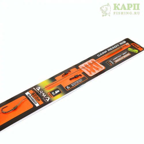 Карповый поводок FOX EDGES™ SSBP CARP RIG KITS 25lb Brown
