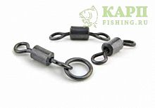 Вертлюжки с колечком FOX EDGES™ Flexi Ring Swivel №7