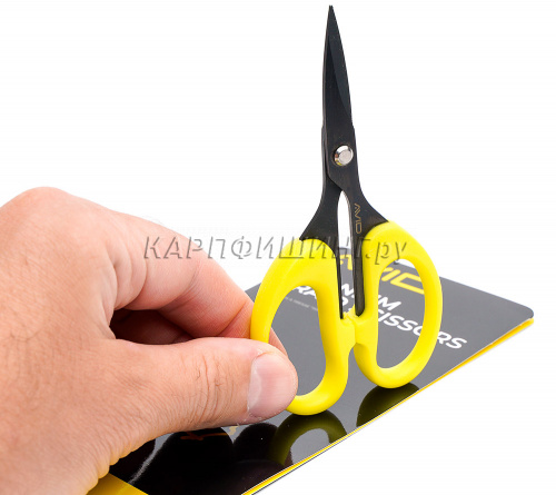 Ножницы AVID CARP TITANIUM Braid Scissors фото 3