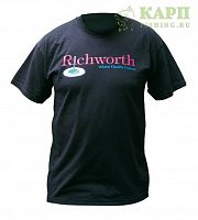 Футболка Richworth T-Shirt L Green - зеленая
