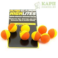 Шарик плавающий AVID CARP High Lites 14mm Orange/Yellow