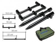 Комплект буз-баров со стойками Nautilus Blacktron Buzzbar Mini Set 2 rods 18-20cm