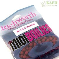 Бойлы Richworth Midi Bloodworm | МОТЫЛЬ