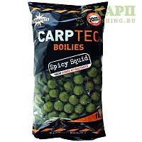 Бойлы Dynamite Baits CARPTEC SPICY SQUID | КАЛЬМАР 1kg