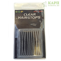 Стопора для бойлов мини ESP Hairstops Mini CLEAR