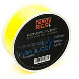 Леска карповая Ready Rigs IMPULSE Yellow 1000m.