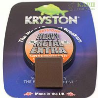 Мягкий свинец KRYSTON Heavy Metal Super Heavyweight Putty Gravel Brown