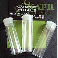 Gardner rig roll spare phials Large - Запасные банки 3шт.
