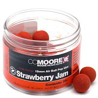 Плавающие бойлы CCMoore STRAWBERRY JAM Air Ball Pop-Up (клубника)