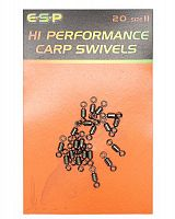 Вертлюжки ESP Hi Performance Carp Swivels №11
