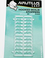 Стопора для бойлов NAUTILUS Hooked Boilie Stoppers CLEAR