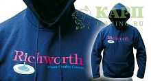 Толстовка Richworth Hooded Sweatshirts XXL Green - зеленая
