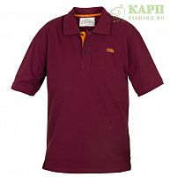 Поло FOX CHUNK™ Polo Shirt Burgundy/Orange