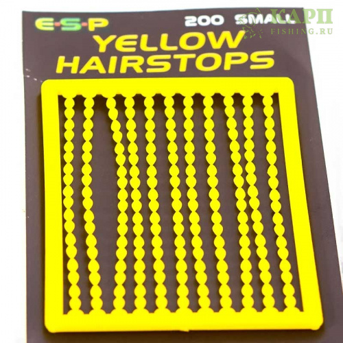 Стопора для бойлов ESP Hairstops Small YELLOW