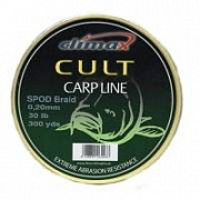 Шнур Сподовый Climax CULT SPOD BRAID 0.16mm 20lb 274 м желтый