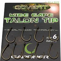 Крючки карповые GARDNER Covert TALON TIP WIDE GAPE