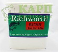 Микс для бойлов Richworth MULTI-PLEX Base Mix  2.5kg