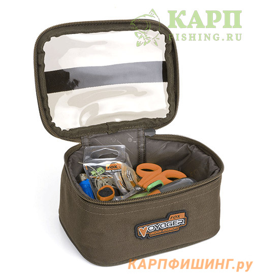 b78a73cd815e Сумка для аксессуаров средняя Fox Voyager Accessory Bag MEDIUM ...