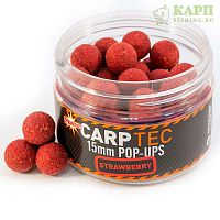 Плавающие бойлы Dynamite Baits CarpTec Strawberry | КЛУБНИКА