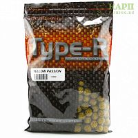 Бойлы Richworth TYPE-R Yellow Passion ЖЕЛТАЯ СТРАСТЬ 1kg