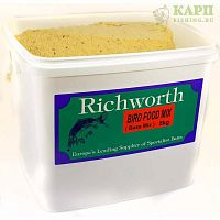 Микс для бойлов Richworth BIRD FOOD Base Mix 5kg - ПТИЧИЙ КОРМ