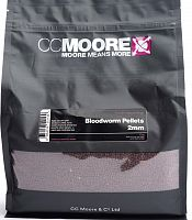 Пеллетс CCMoore BLOODWORM Pellets | МОТЫЛЬ 2mm 1kg