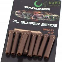 Отбойник длинный GARDNER Covert Buffer Beads XL BROWN