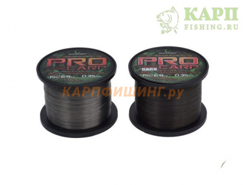 GARDNER PRO CARP 10lb 0,28mm LIGHT - Леска