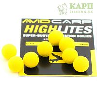 Шарик плавающий AVID CARP High Lites 10mm Yellow