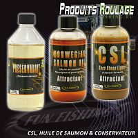 Лососевое масло - Fun Fishing 200ml Huile de Saumon