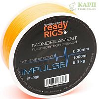 Леска карповая Ready Rigs IMPULSE Orange 1000m.
