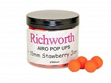 Плавающие бойлы Richworth Strawberry Jam КЛУБНИКА ДЖЕМ