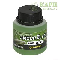 Дип Fun Fishing Amour blanc Booster GAZON | АМУР Газон 100ml