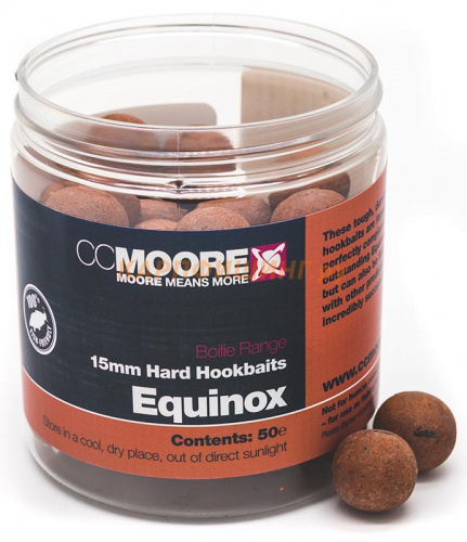 Бойлы Твёрдые CC Moore EQUINOX Hard Hookbaits | Эквинокс