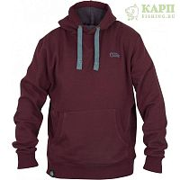 Толстовка с капюшоном FOX CHUNK™ Ribbed Hoody - LARGE Burgundy/Orange