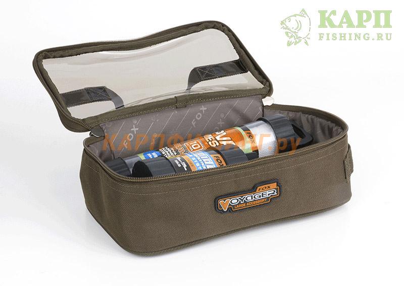 96f9bf70ba85 Сумка для аксессуаров большая Fox Voyager Accessory Bag LARGE купить ...