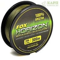 Fox Horizon Braid Mainline 30lb x 300m (0.26mm) - леска плетеная