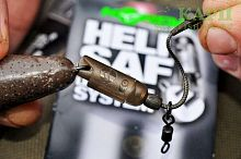 Быстросъем для грузил KORDA Heli Safe Lead Release System Brown