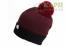 Шапка с пумпоном FOX CHUNK™ Bobble Hats Burgundy