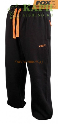 Штаны Облегченные Fox Black & Orange Lightweight Joggers - M