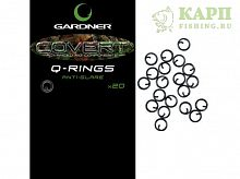 Застежка в виде кольца Gardner Covert Q-Rings Anti Glare