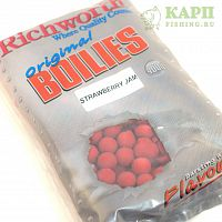 Бойлы Richworth Original Boilies Strawberry Jam | КЛУБНИЧНЫЙ ДЖЕМ 400g